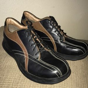 Steve Madden Shoes - Steve Madden Size 12 Men's Leather 2Tone Tie Shoes
